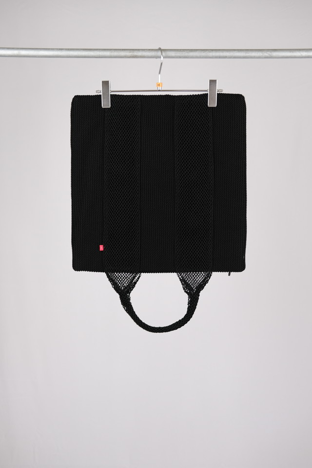 【AL】HAND BAG 01 - black(nylon)