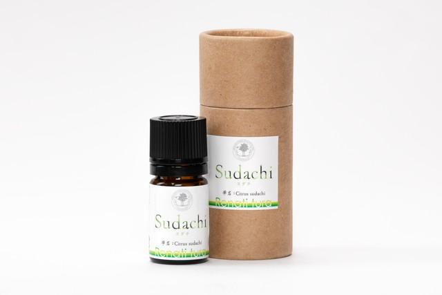 徳島スダチ精油 3㎖   ( Citrus sudachi essential oil )