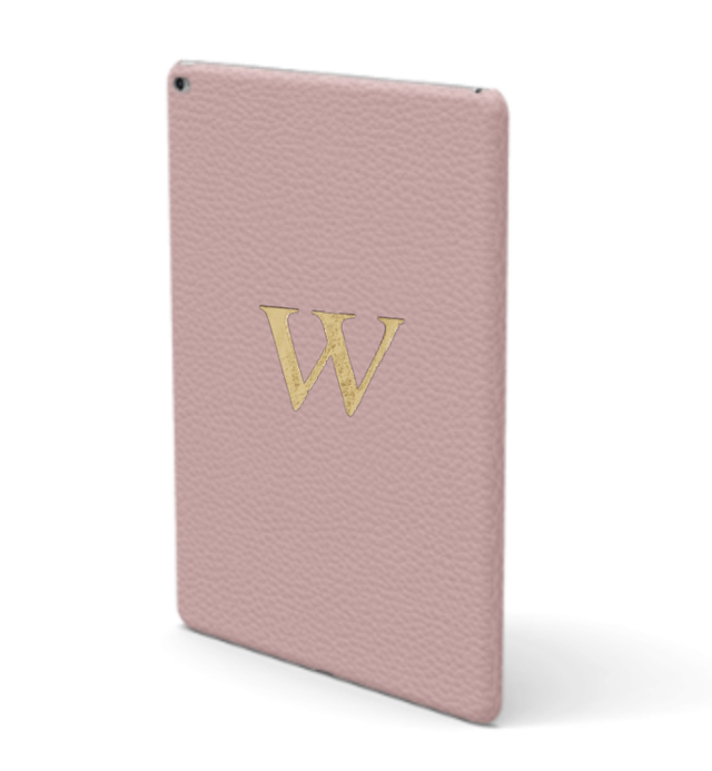 iPad Premium Shrink Leather Case (Blush Pink)