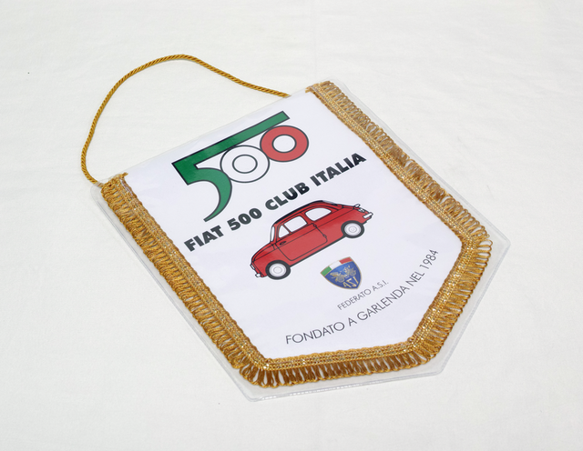 FIAT 500 CLUB ITALIA バナー