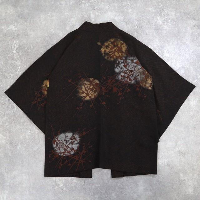 Japanese vintage haori Black