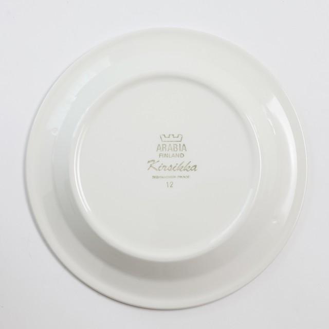 ARABIA アラビア Kirsikka キルシッカ コーヒーカップ&ソーサー、プレート三点セット - 4 北欧ヴィンテージ