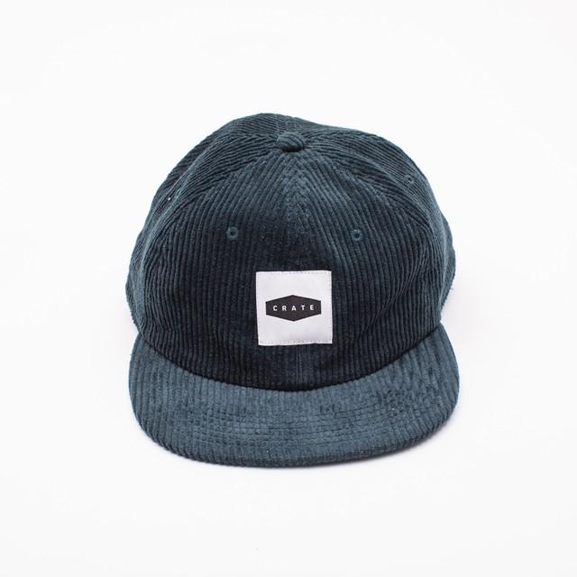 Block Logo Knit Cap Black×Blue