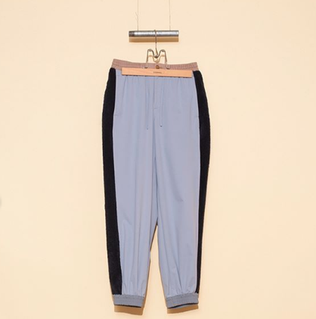 DIGAWEL【ディガウェル】NYLON PILE PANTS (GRAY)
