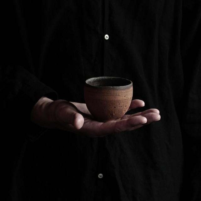 焼締カップ uchida yoshimi