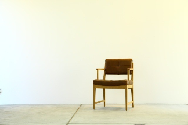 cosuke arm chair ( leather )