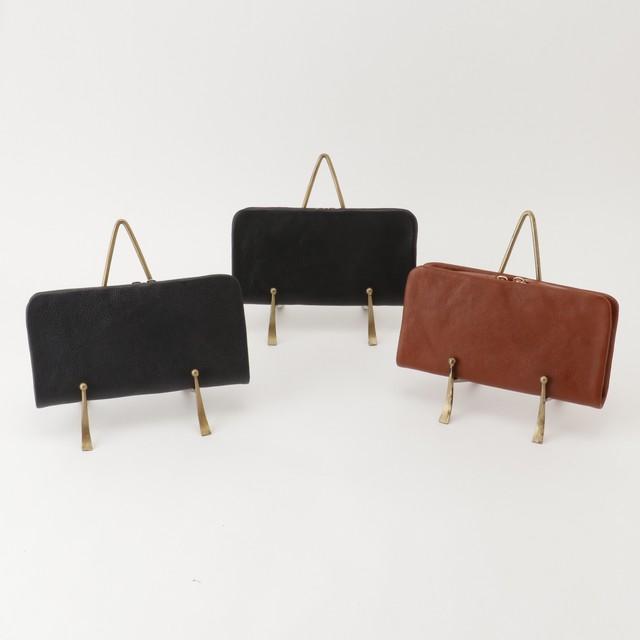 バックサイドポケット 本革長財布~当店オリジナル革製品ブランド、Genuine Leather