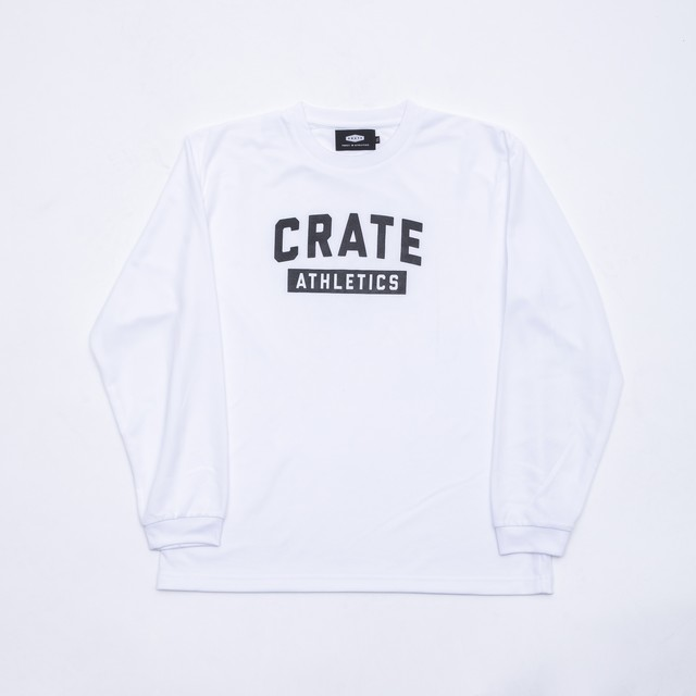Crate Athletics Mesh L/S Tshirt White