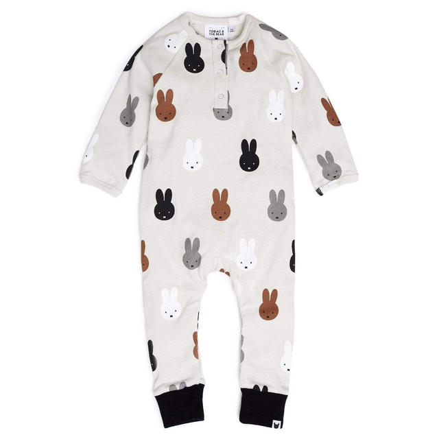 TOBIAS AND THE BEAR/Miffy & Friends romper