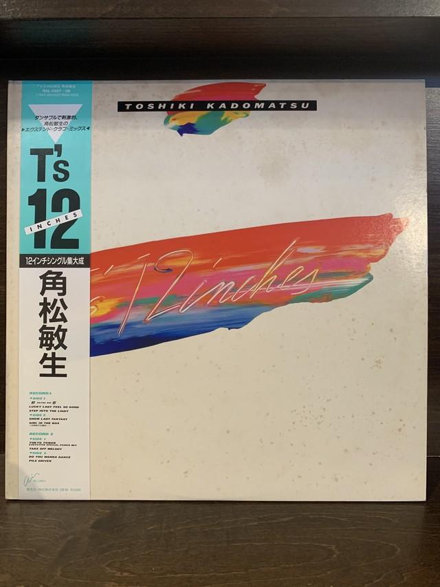 角松敏生 / T'S 12 INCHES