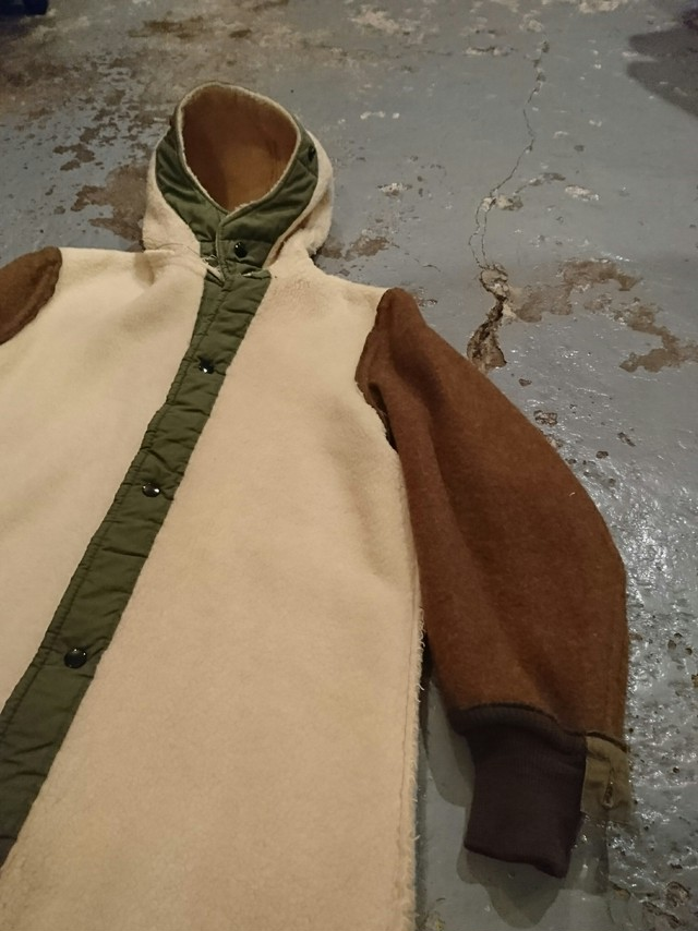 """40s """"US ARMY M-47 PILE LINER"""" size S"""