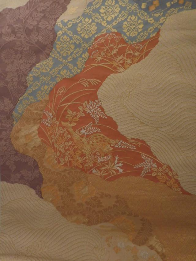 服部袋帯 Hatsutori Fukuro obi sash(No45)