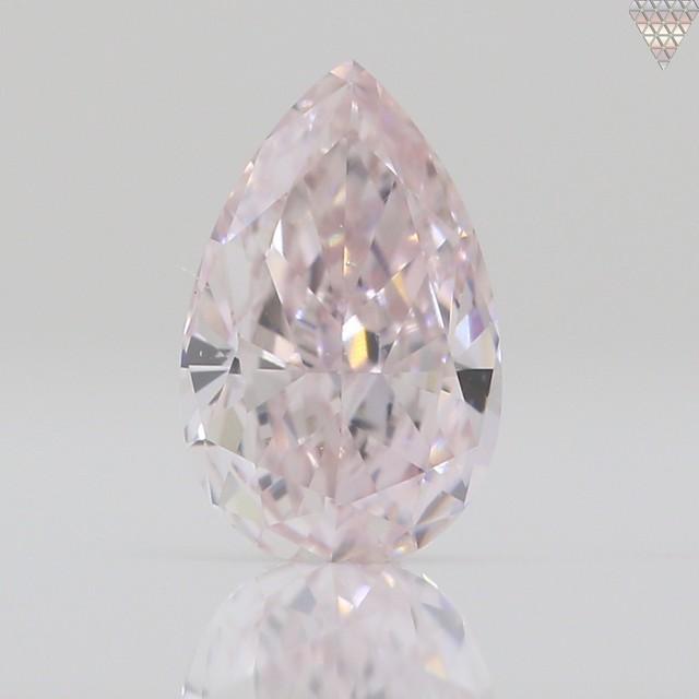 0.33 ct LIGHT  PINK VS2 PEAR GIA 天然  ダイヤモンド ルース