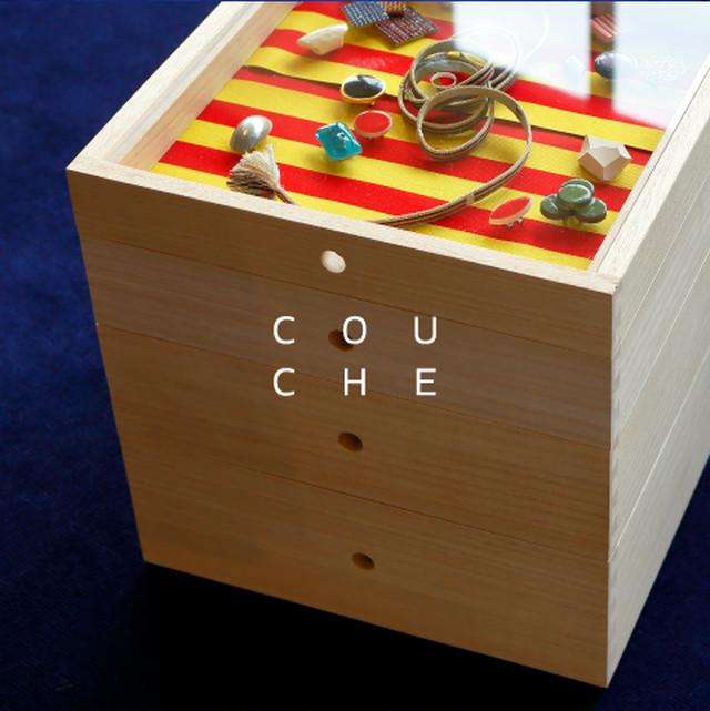 桐の箱庭 COUCHE -クーシュ- 一尺 4段組 [ VIVIDEEP ]