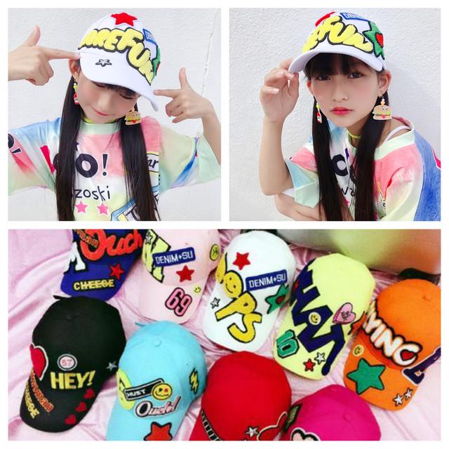 7カラー ★ 派手 キャップ 帽子
