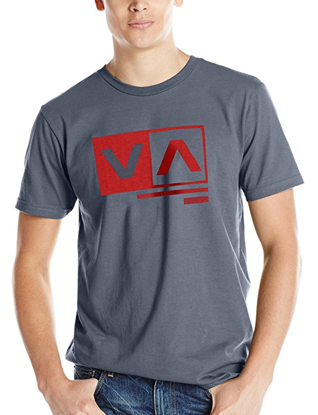 RVCA Men's Cut Out Box Tシャツ