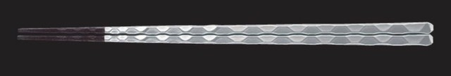 ジョイント箸 23.0cm 透明/白