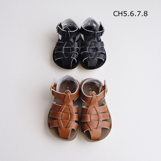 Salt-Water SANDALS SHARK(全2色/US CH5(13.3cm)〜US CH8(15.7cm)サイズ)