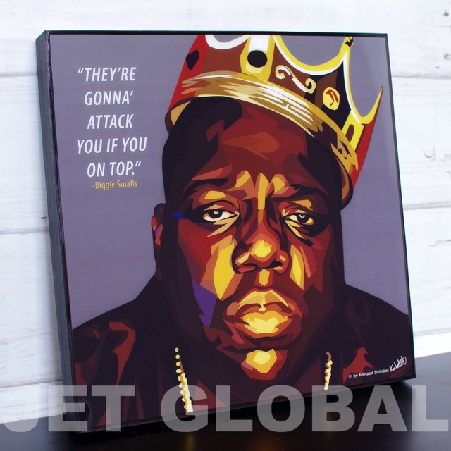 BIGGIE/ BIGGIE SMALLS / Lサイズ 52cm / PAPM_0015
