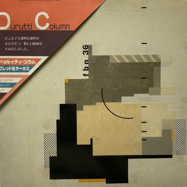 【LP・国内盤】ドゥルッティ・コラム / ブレッド&サーカス