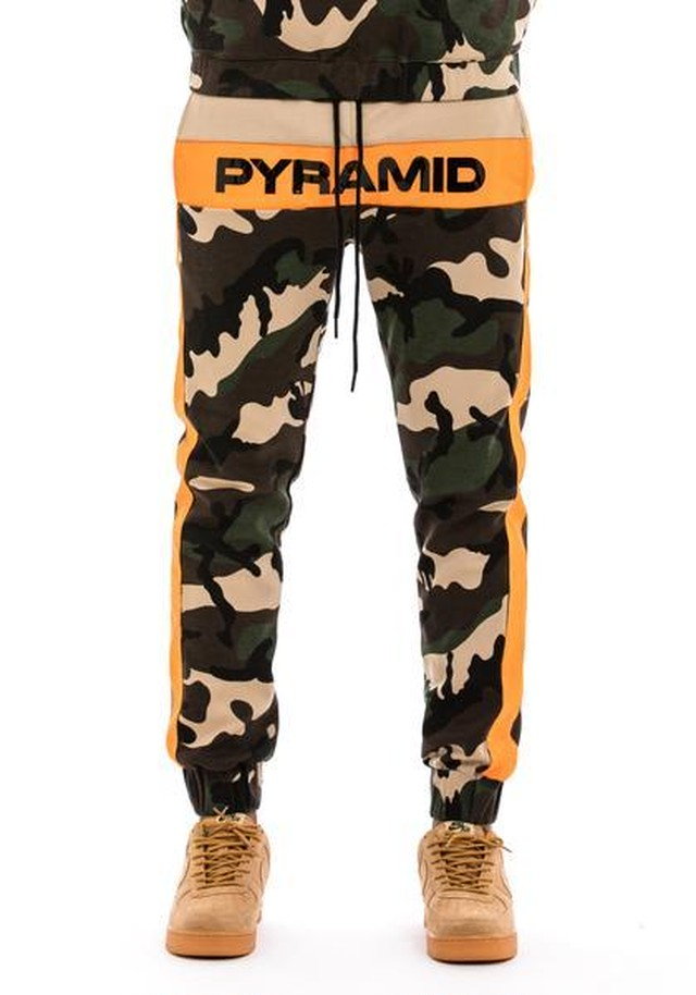 【Blackpyramid】Pyramid Block Pant カモフラージュ