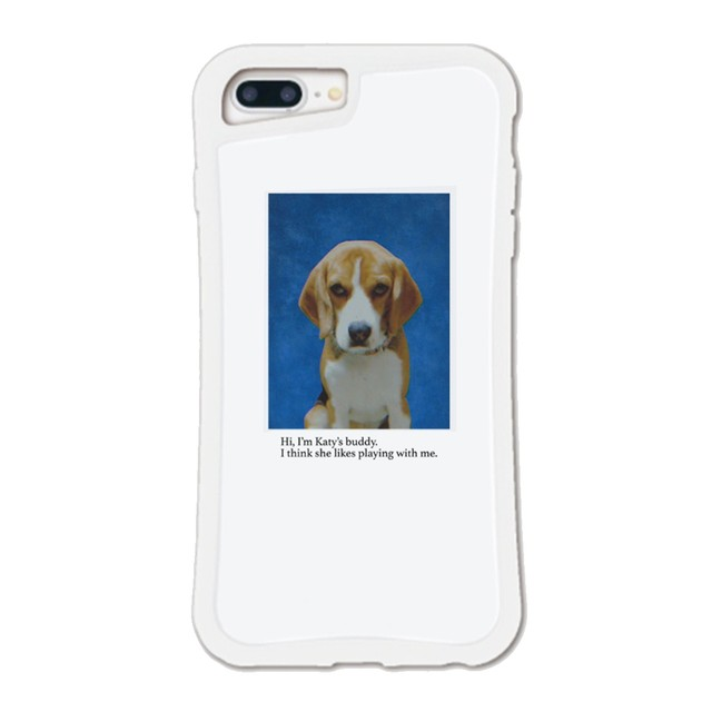 【Cat & Parfum】Katy's Dog iPhone Case with chain