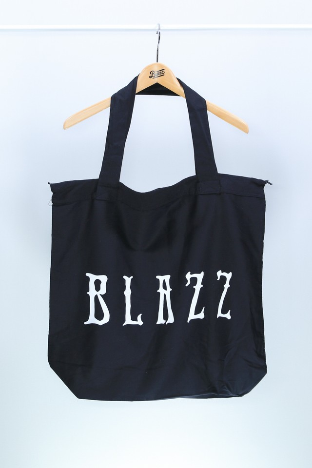 Euro Blazz Drawstring BIG TOTE BAG [BLACK]