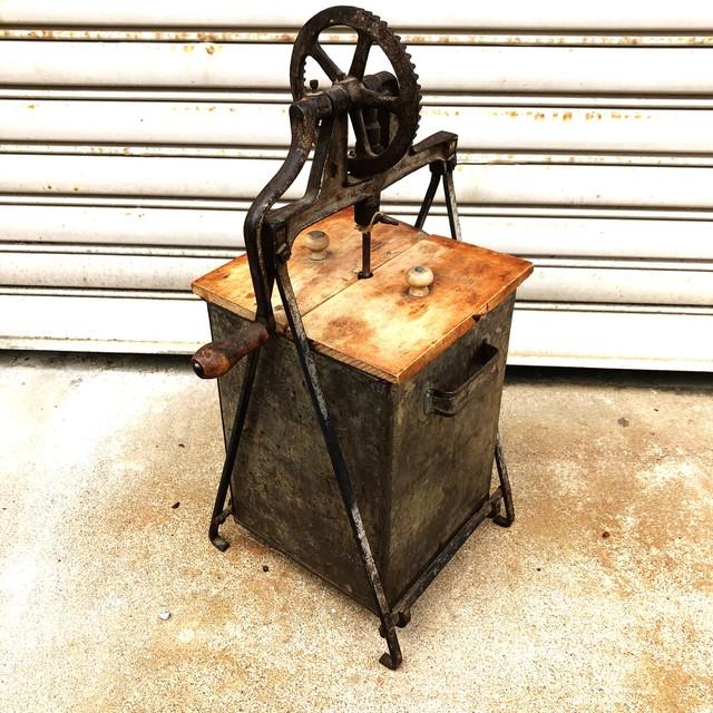 品番1096 バターマシーン キッチン 調理器具 インテリア 錆 ヴィンテージ