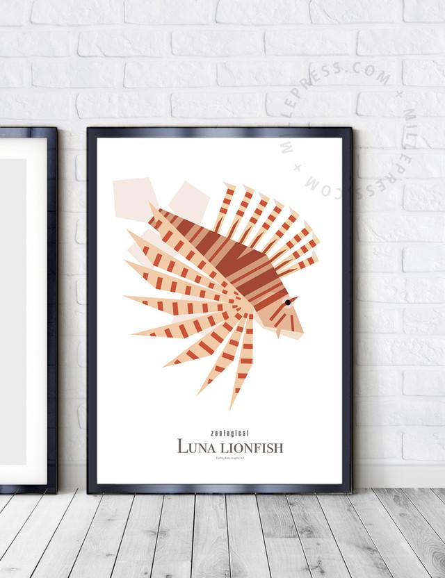 【Luna lionfish】 MP022-002C