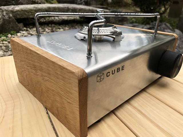 KOVEA CUBE コベアキューブ カセットコンロの板 蜜蝋仕上げ | 美術木箱うらた powered by BASE