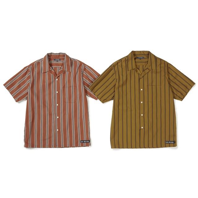 CAPTAINS HELM #Stripe O/C SS Shirts