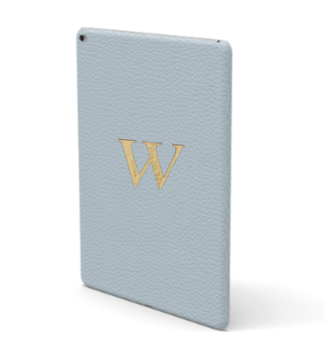 iPad Premium Shrink Leather Case (Sky Blue)