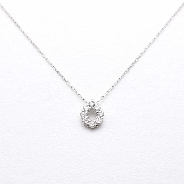 K18 ダイヤモンドネックレス