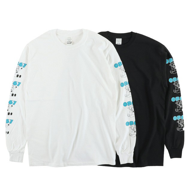 0867 / Long Sleeve T-Shirt / Jersey Cow / Logo