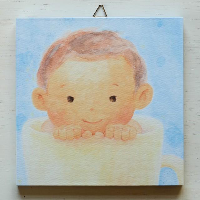 アートパネルNo.26「スープカップぼうや」