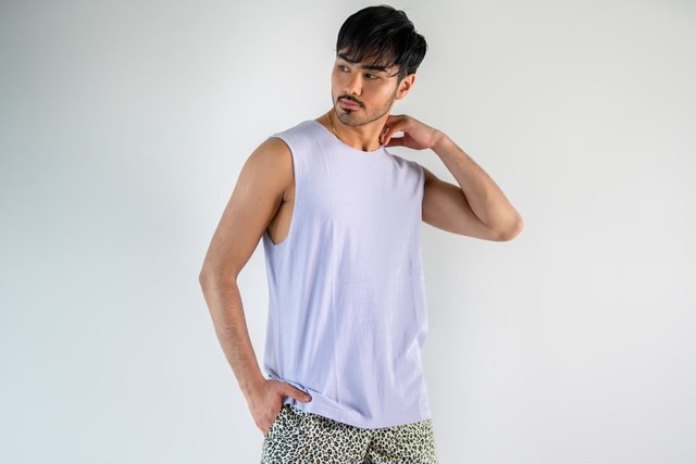 【6/3(wed)21:00販売開始】ThreeArrows Cut-off Sleeveless(mint)