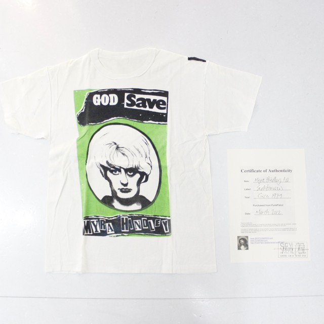 【seditionaries】myra hindley tee