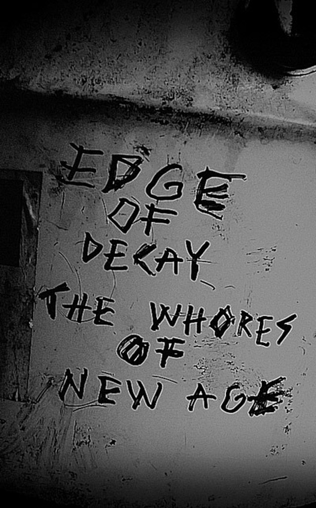 EDGE OF DECAY - The Whores of New Age   C34 Single Side - メイン画像