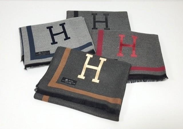 Hカシミヤスカーフ スカーフ ショール 韓国ファッション