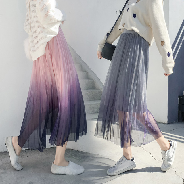 【bottoms】イレギュラーニット厚くて上質感スカート 23826903