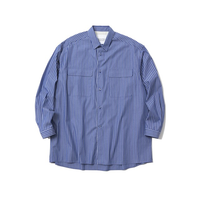 STRIPE LONG SLEEVE SHIRT - RANDOM STRIPE