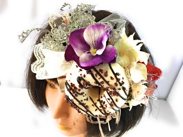 和洋使えるフルーツのヘッドドレス