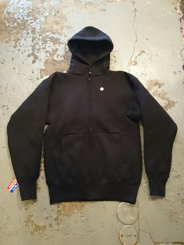 """CAMBER """"HEAVY WEIGHT W-FACE ZIP PARKA"""" BLACK COLOR"""