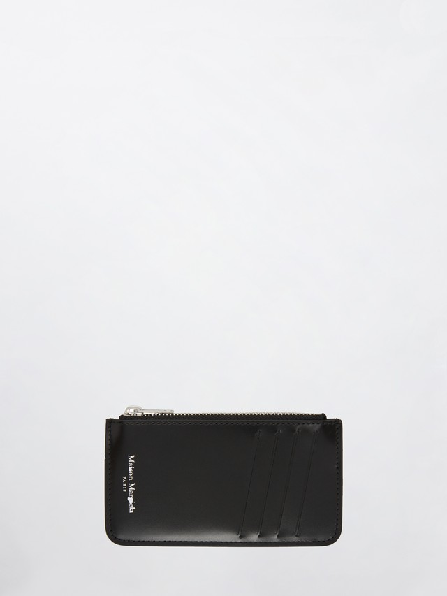 MAISON MARGIELA Card & Coin Case(P2714) Black S55UA0023