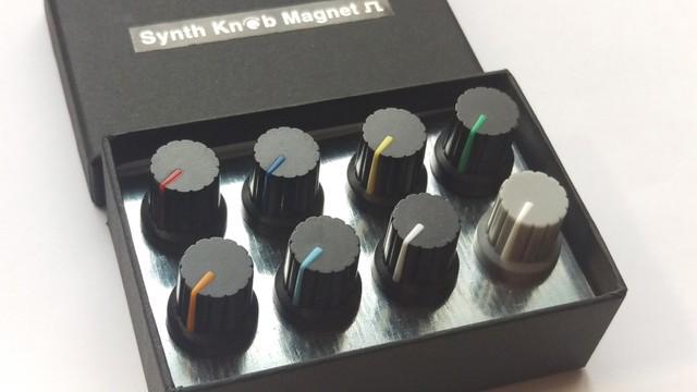 【マグネット】SKMカラーツマミアソートセット Synth Knob Magnet
