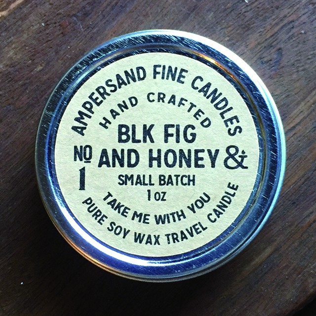 1oz Travel Can -BLACKFIG AND HONEY- キャンドル Candles - メイン画像