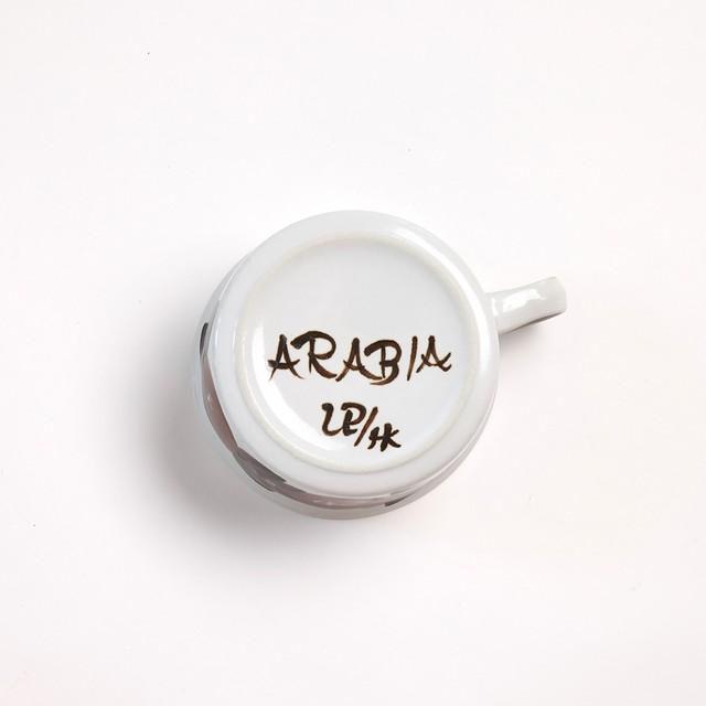 ARABIA アラビア Rosmarin ロスマリン ティー C&S、200mmプレート三点セット - 3 北欧ヴィンテージ