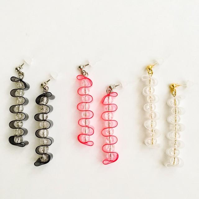 E-20 pierce樹脂/earring
