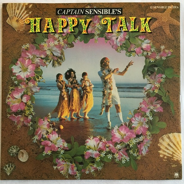 【12inch・英盤】Captain Sensible / Happy Talk