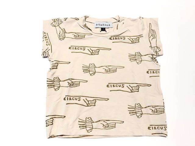 【20SS】arkakama (アルカカマ) OverThere SS Tee (kids)【指】S,M,L ティーシャツ